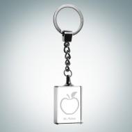 Rectangle Treasure Keychain