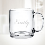Nordic Glass Mug, 13oz