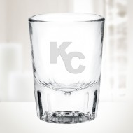 2oz Fluted Whiskey Shot Glass
