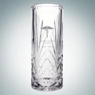 Serenity Cylinder Vase | Hand Cut