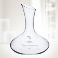 Crystalite Roman Decanter  33.8oz