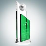 Green Success Golf Trophy