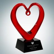 Art Glass The Whole Heart Award