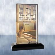 Sublimation Color Imprinted Beveled Impress Acrylic Award