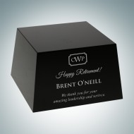 Optional Crystal Base - Black Slant