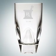 RCR Diamante Highball Glass, 12oz