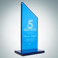 Blue Glass Honorary Sail Award