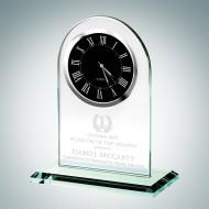 Black Roman Arch Clock