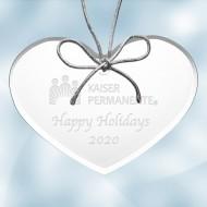 Acrylic Heart Ornament