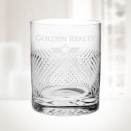 Bourbon Street DOF Whiskey Glass 15oz