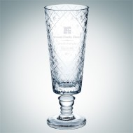 Diamond Net Vase | Handcut, Made in Italy