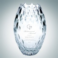 Clear Ocean Vase | Handcut, Made in Italy