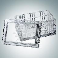 Majestic Crystal Box - Rectangle   Hand Cut